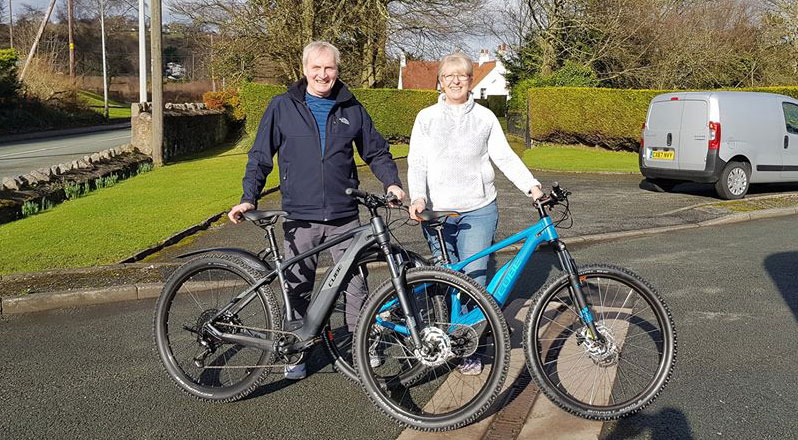 Cube eBikes Gift for 50th Birthday, Life on Wheels, Holywell