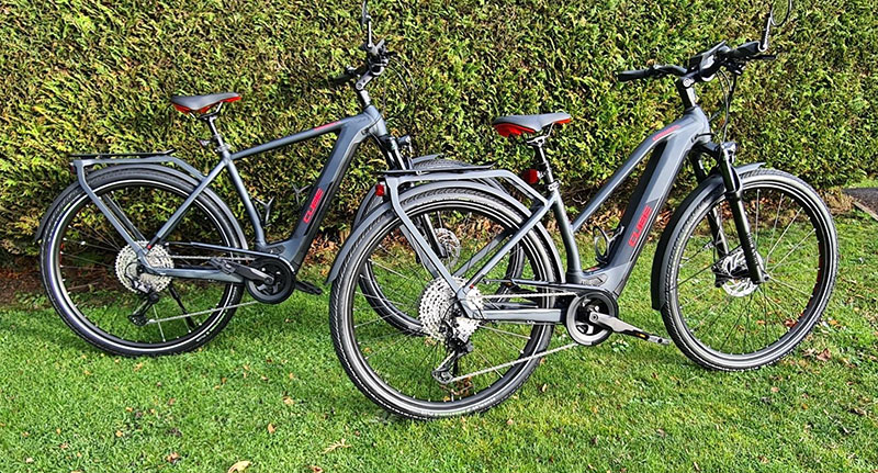 CUBE & Kalkhoff ebike review - Life on Wheels