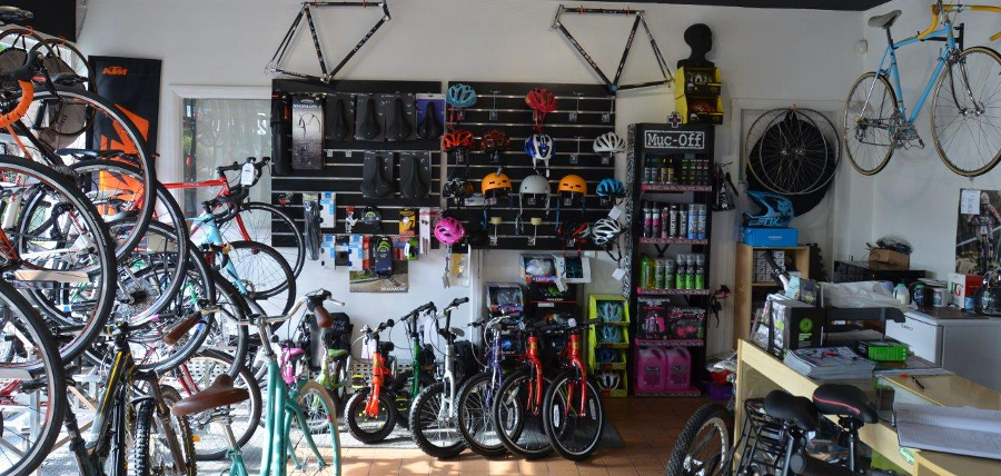Life on Wheels, cycle shop in Holywell