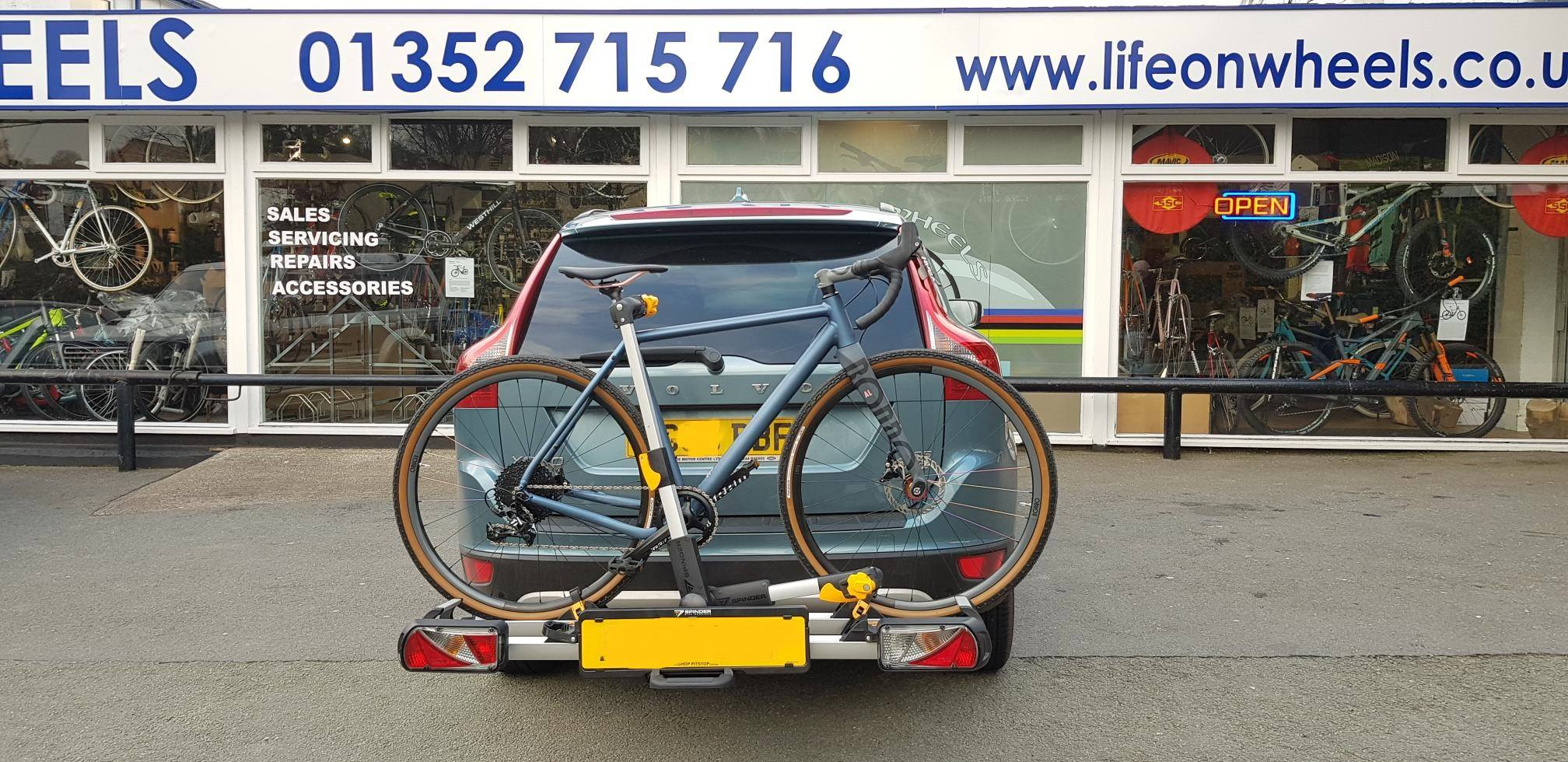 Rondo Gravel Bike and Rack from Life on Wheels, Cycle Shop Holywell, Flintshire