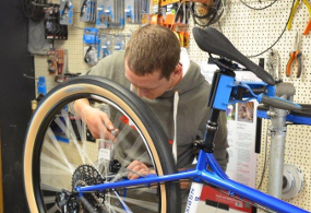 Life on Wheels bike workshop repairs Holywell. Bike Shops North Wales